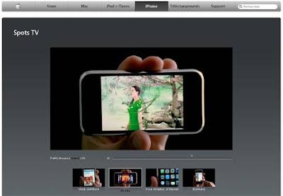 Spot TV iPhone Apple France