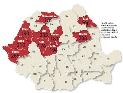 Băncile dau afară din casă 50 de români pe zi