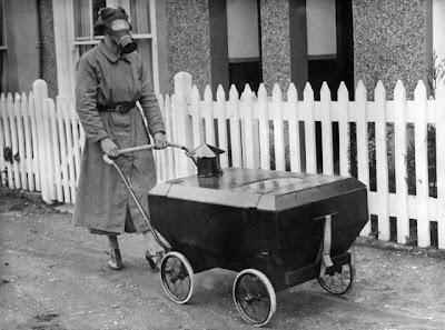 Gas War Resistant Pram (England, Hextable, 1938)