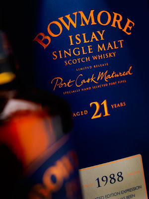 Bowmore 21 Years Old Port Cask Matured 70cl