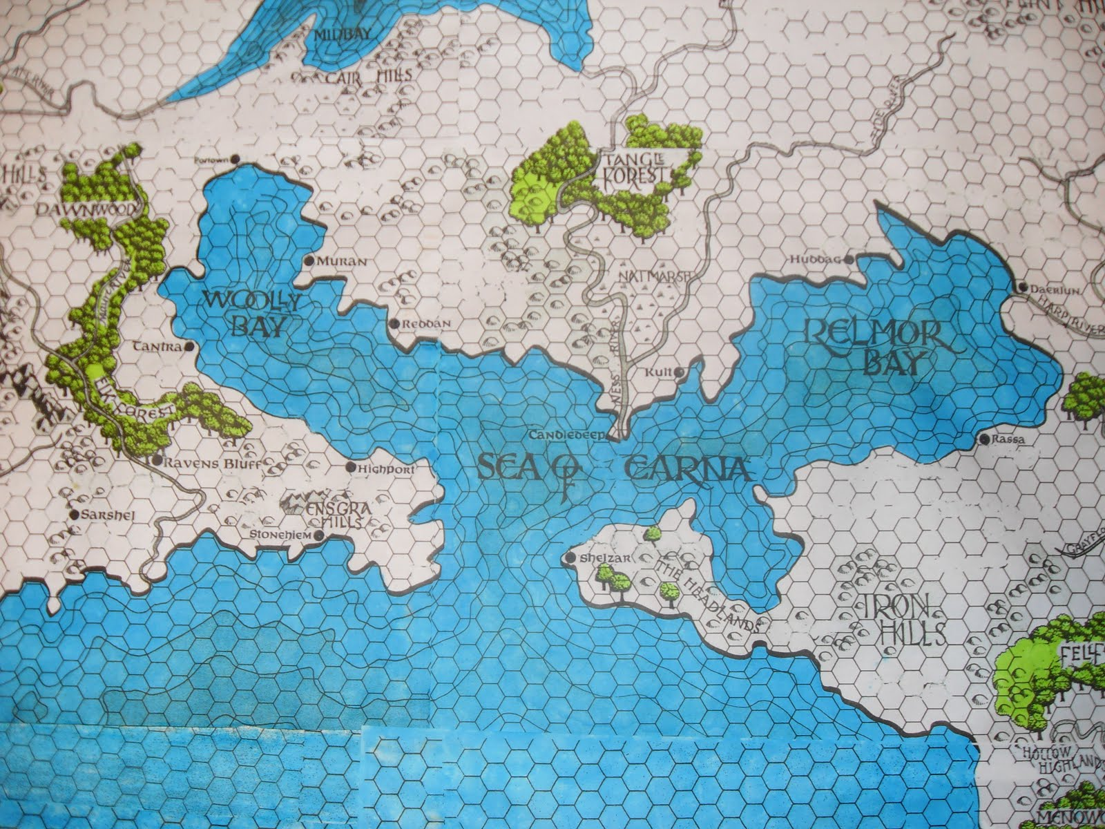 forgotten realms cities