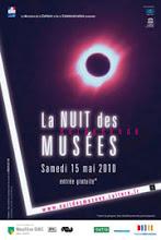LA NUIT DES MUSEES - SAMEDI 15 MAI 2010