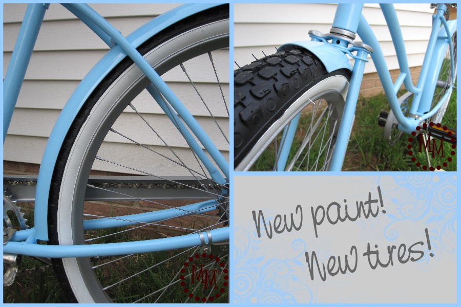 Vintage Bicycle Makeover The Scrap Shoppe
