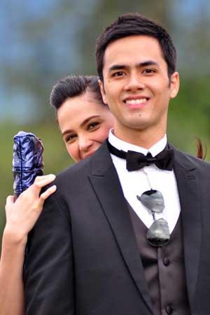 Kristine Hermosa and Oyo Boy Sotto Wedding