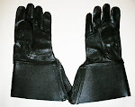 Gloves and motorcycle or driving gauntlets