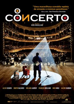 Filme Poster O Concerto DVDRip XviD Dual Áudio & RMVB Dublado