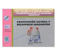 COMPRENSIÓN LECTORA Y DESARROLLO IMAGINATIVO