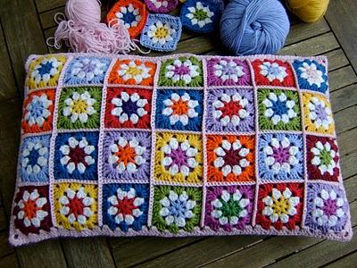 Rainbow Granny Squares - Crochet Patterns, Free Crochet Pattern