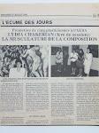 Promotion de cinq plasticiennes a l'ALBA LIDYA CHAKERIAN (1ER DE SESSION): LA MUSCULATURE DE LA COM