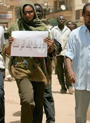 periodista sudanesa Lubna Husein
