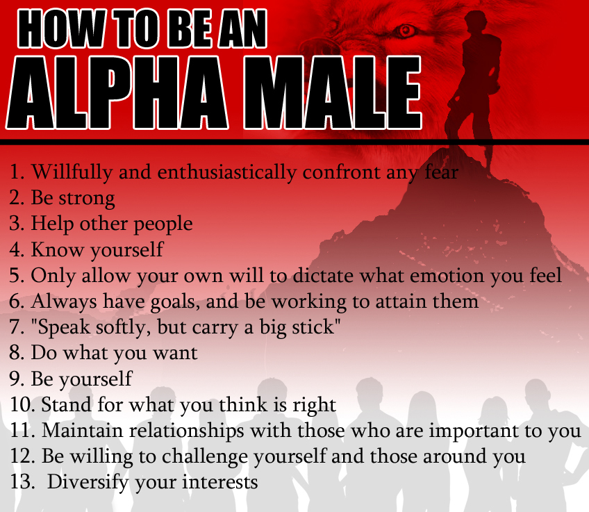 im dating an alpha male Some men like their women submissive, sweet, feminine, and nurturing - and hey , there's nothing wrong with that but that woman is certainly not an alpha female now, for my alpha females out there, you badass bitches know who you are, it takes a very particular man to be able to handle you yes, you might as well.