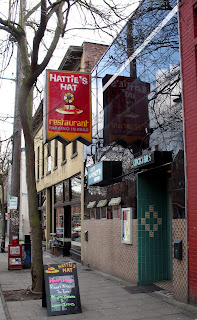 hattie's exterior