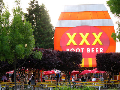 xxx root beer sign