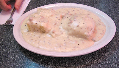 Twede's Cafe half order of biscuits and gravy