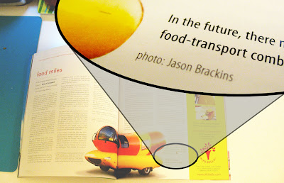 weinermobile picture in spice magazine