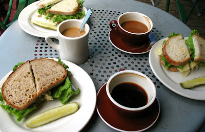 Sandwiches at Grand Central Baking Co.