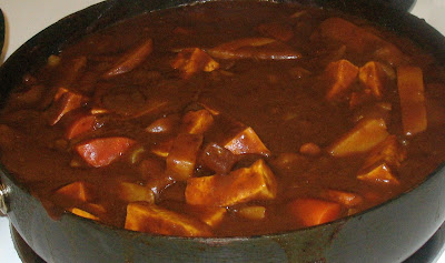 Java Curry in the Pot