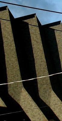 St. Pauls in lower queen anne, vertical lines