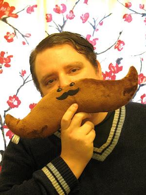 mustachioed leff