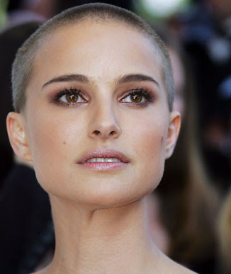 v for vendetta natalie portman shaved. Natalie Portman - Shave Head,