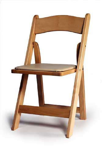 able to find wooden chairs