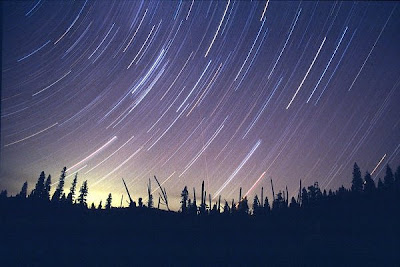 Perseid Meteor showers orinoid