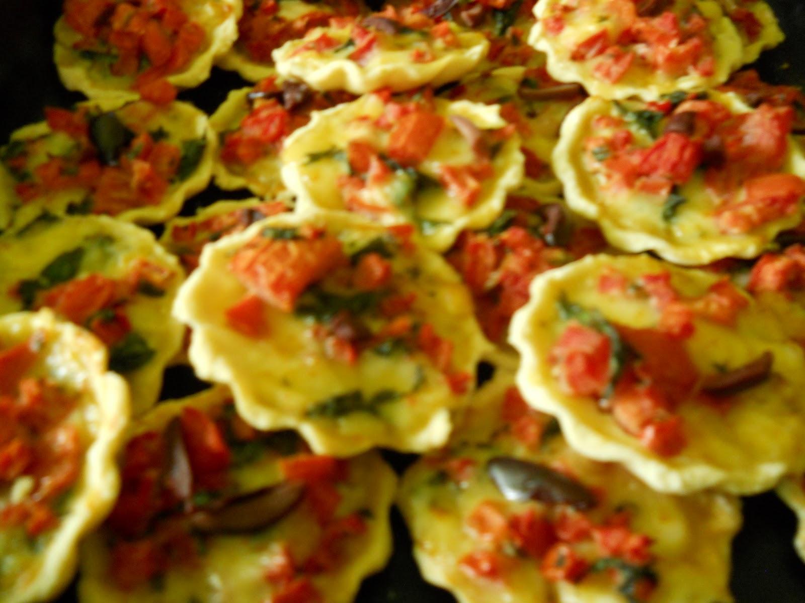 Phulka cocina vegetariana tartaletas caprese for Cocina vegetariana