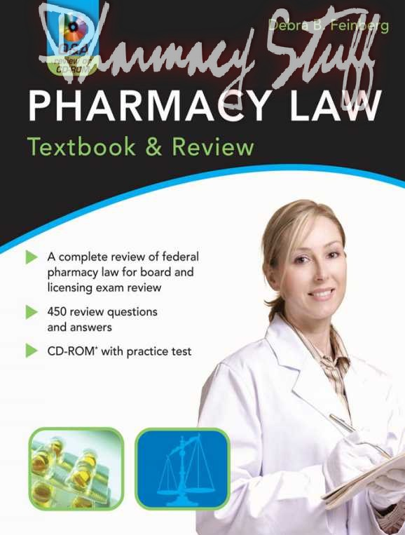 Pharmacy law and regulation - Pharmacy Tech Study