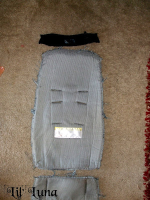 Tutorial: Car Seat Cover Free Sewing Pattern from the Kids ...