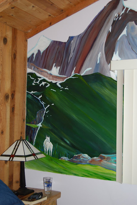 mural detail, Serendipity range, Canadian range