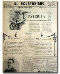 """Diario guayaquileño """"El Ecuatoriano"""""""