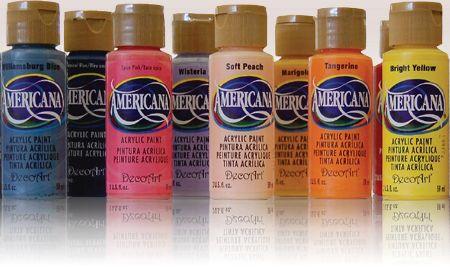 Pint corrientes art stica integral acr licos americana - Pintura acrilica al agua ...