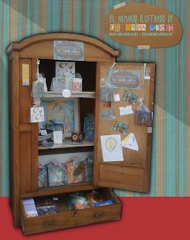 El armario Ilustrado de Carolina Durán