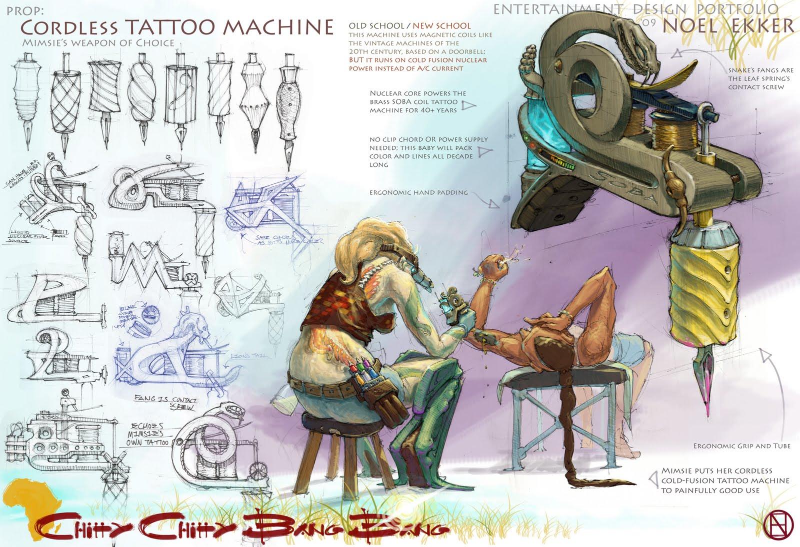 Neuma Hybrid Tattoo Machine