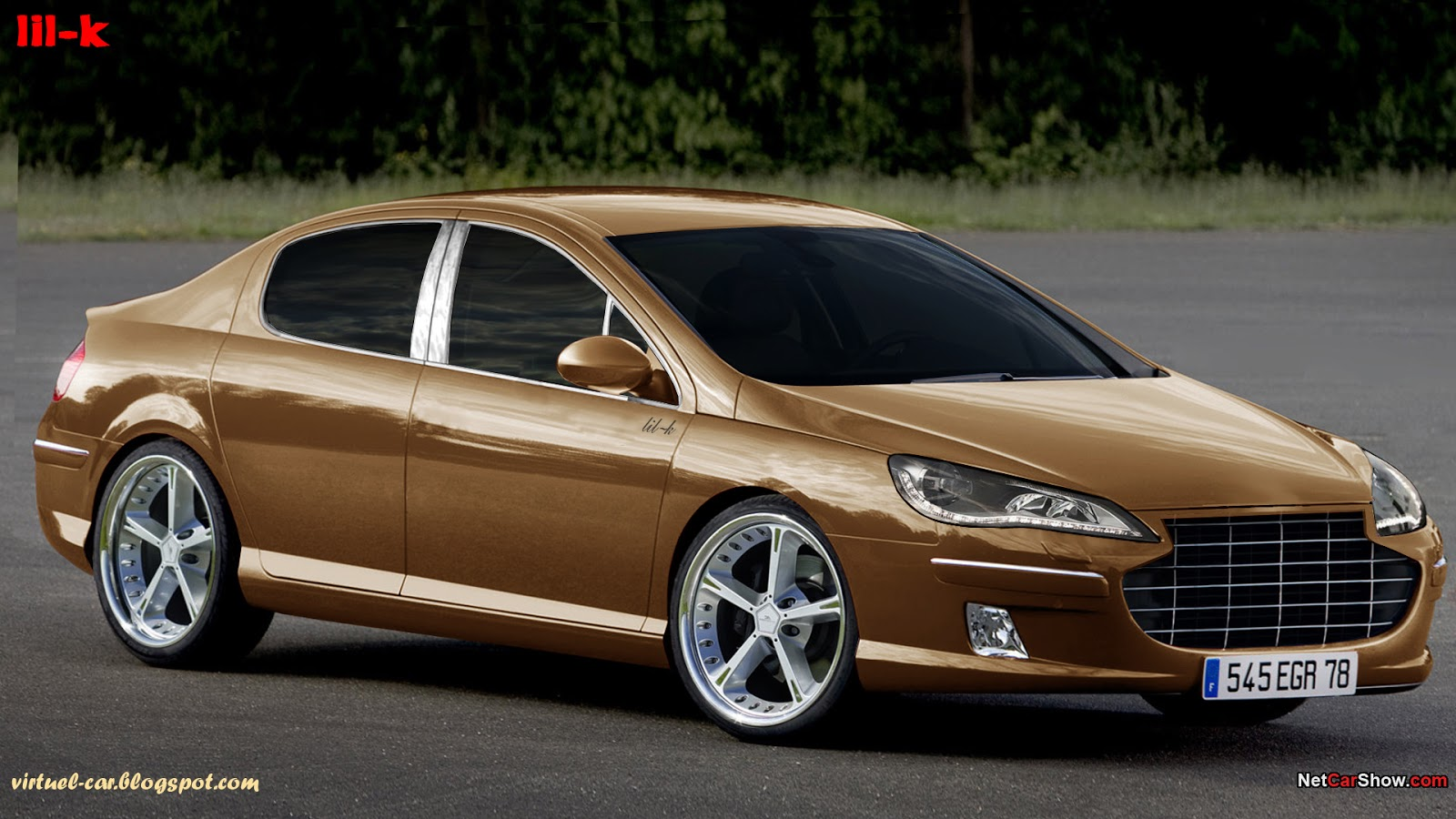 new cars zone peugeot 407 tuning. Black Bedroom Furniture Sets. Home Design Ideas