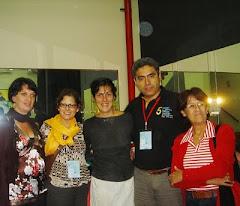 después de la función en Lima!!!