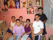 Mi papa tica Humberto Mis hermanos Errol, Brayan, Harrol, y Susana