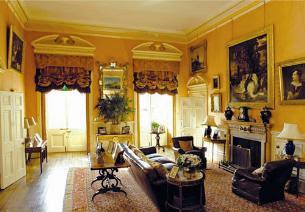 Downton Abbey saison 1 Smoking+room