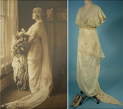 edwardian era wedding dress