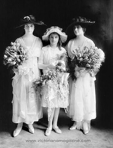 wedding dresses of 1916