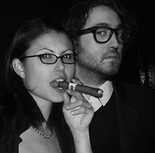Oh yeah, Sean Lennon and I, totally BFFs