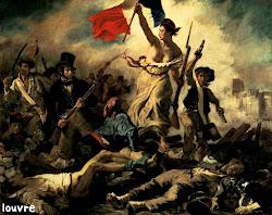 A Liberdade Guiando o Povo – Eugenè Delacroix (1830)