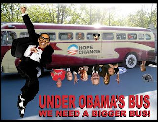 Eric Holder tossed under Obama bus