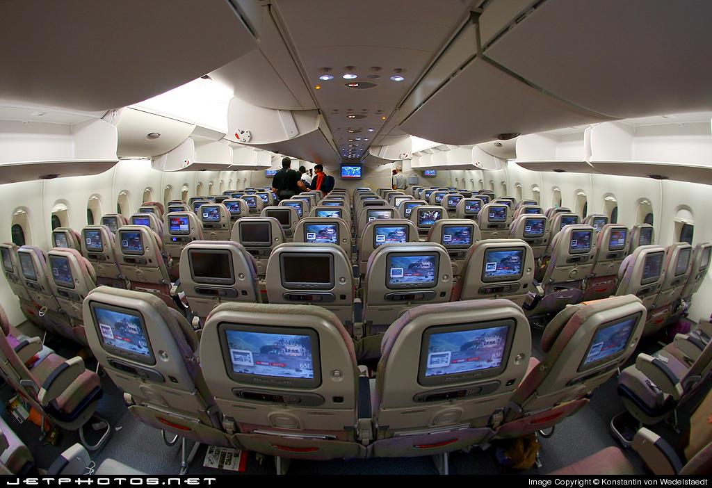 Airlines Emirates Airlines Interior