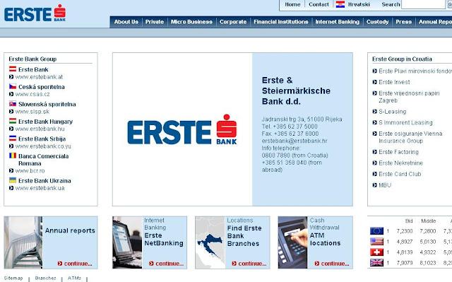 Erste NetBanking, Erste Online Banking Login, Erste Bank Internet Banking