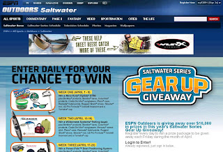 Espnoutdoors.com/gearup - ESPN Outdoors Saltwater Series Gear Up Giveaway