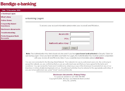 Bendigo Bank Login - Bendigo e-banking