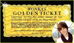 Justin Bieber Tickets California on Com Goldenticket   Justin Bieber Golden Ticket Game Contest
