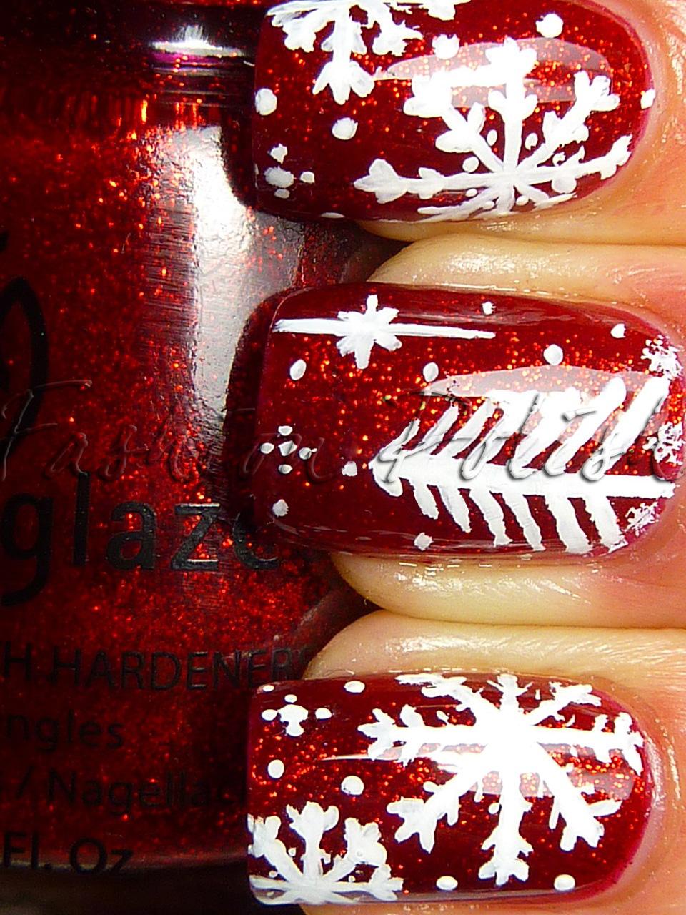 Fashion Polish Christmas Manicure