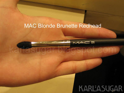 MAC, Blonde, Brunette, Redhead, BBR, brushes, 226
